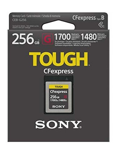 Sony CFexpress Type B 256GB...