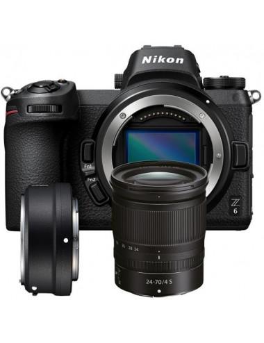 Nikon Z6 II + 24-70/4 S + FTZ