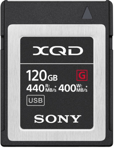 Sony XQD 120GB  R:440MB/s...