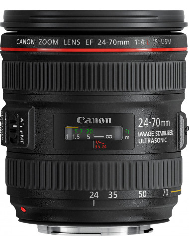 Canon EF 24-70mm f/4L IS USM.