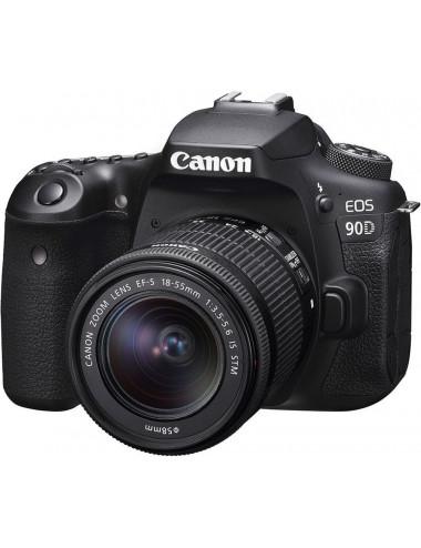 Canon Eos 90D + EF-S 18-55...