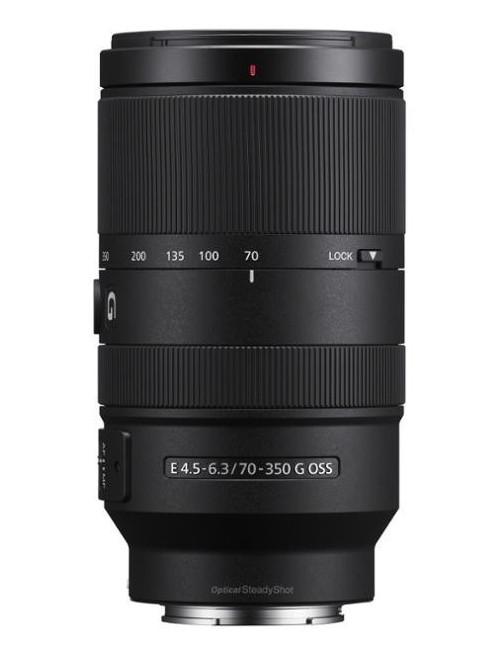 Sony E 70–350mm f4.5-6.3 G OSS